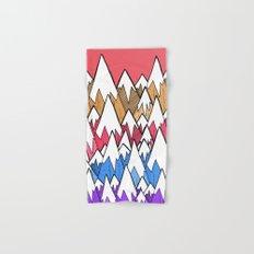 Mountains of colour Hand & Bath Towel