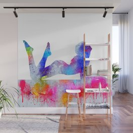 Daydream - Watercolor Nude Wall Mural