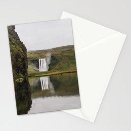 Skógafoss Waterfall - Micah Hamilton Stationery Cards