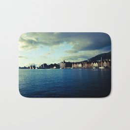 BERGEN CITY, NORWAY Bath Mat