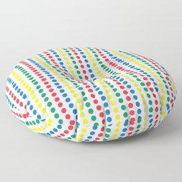 Twister Game Mat Floor Pillow