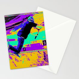 Tail Whip Tryout  - Stunt Scooter Stationery Cards