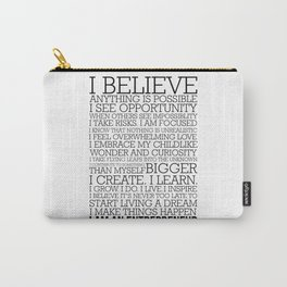 Entrepreneur Manifesto Carry-All Pouch