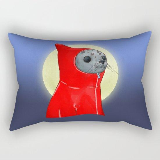 Hooded Seal Rectangular Pillow