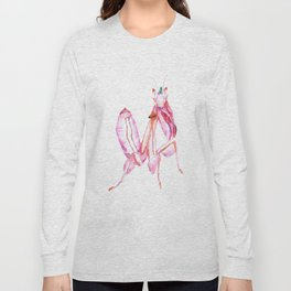 The Orchid Mantis Long Sleeve T-shirt