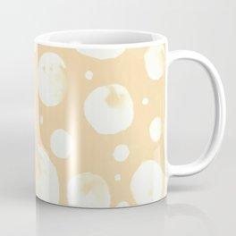 Snowballs-pale peach background Coffee Mug