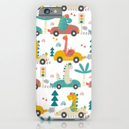 Amazing Cool Dino Design iPhone Case