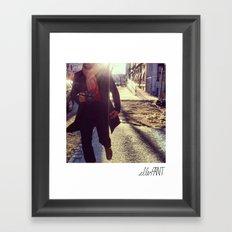 Snap Shot Framed Art Print