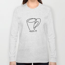 Cuppa Candor [Ivory] Long Sleeve T-shirt