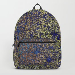 Blue Rust Texture Backpack
