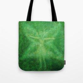 Green fairy Tote Bag