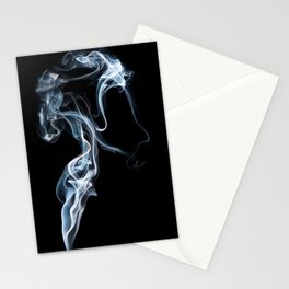A Portrait In Smoke Stationery Cards