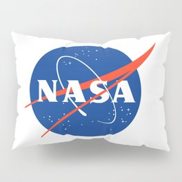 NASA logo Space Agency Astronaut Pillow Sham