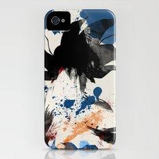 Son Goku - Digital Watercolor Painting iPhone (4, 4s) Slim Case