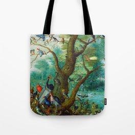 Jan van Kessel - Concert of birds Tote Bag