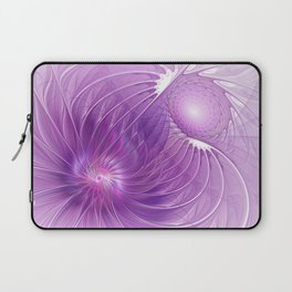 Protection, Abstract Fractal Art Laptop Sleeve