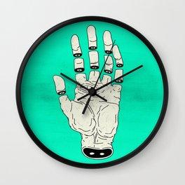 THE HAND OF DESTINY / LA MANO DEL DESTINO Wall Clock