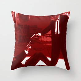 Minimalistic Reservoir dogs Throw Pillow