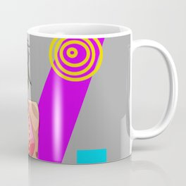 90's Chick Pin-Up Coffee Mug