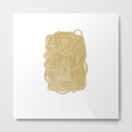 Hokkien Mee Metal Print