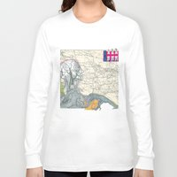 fig Long Sleeve T-shirts featuring Fig. 407 by judy lee