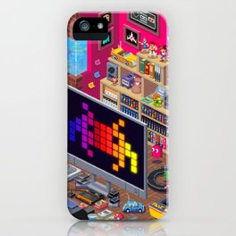 Edge Retro Cover Reboot... iPhone Case