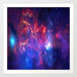 Core of the Milkyway Art Print