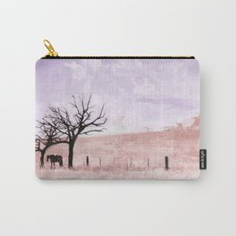 The Lone Horse In The San Rafael Valley Of Arizona Carry-All Pouch