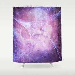 Earth Angels Shower Curtain