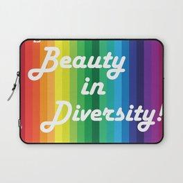 Beauty in Diversity Laptop Sleeve