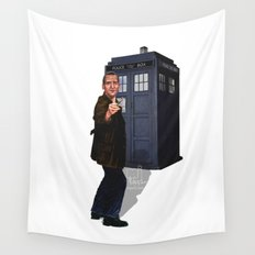 9th Doctor Wall Tapestry
