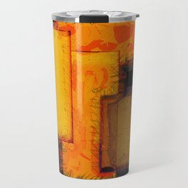 NY City Blocks Travel Mug