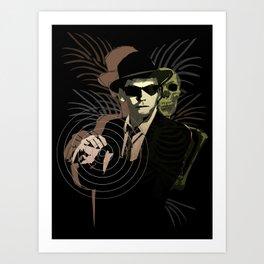 G-Man on Holiday Art Print