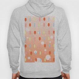 Kawaii Popsicles Orange Hoody