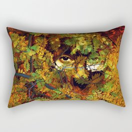 rustling in the foliage Rectangular Pillow