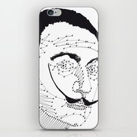 dali iPhone & iPod Skins featuring DALI by pointing@faces