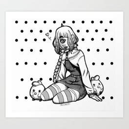 Cyclope Style Art Print