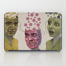 WORRY ANGER FEAR iPad Case