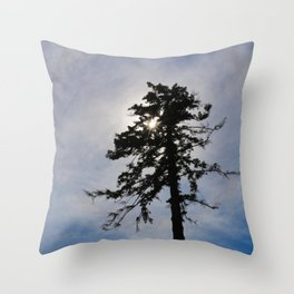 Today, I am Alone. Throw Pillow
