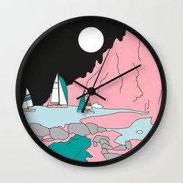 Luna llena en Aries Wall Clock