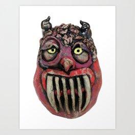 Guardian Monster Art Print