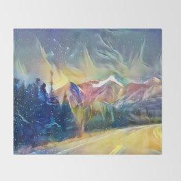 Mystic Mountain Throw Blanket