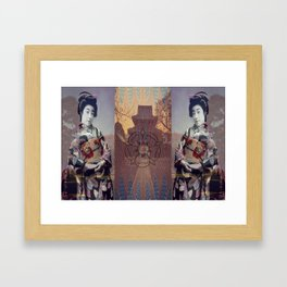 Once Upon A Time in Tokyo XV Framed Art Print