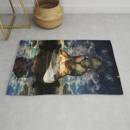 The Mirrored Surface Rug