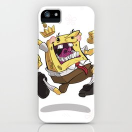 the Pineapple King iPhone Case