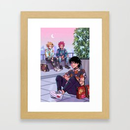 Mall Rats Framed Art Print