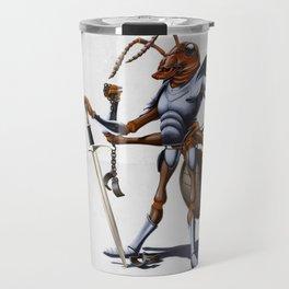 Soldiering On (wordless) Travel Mug