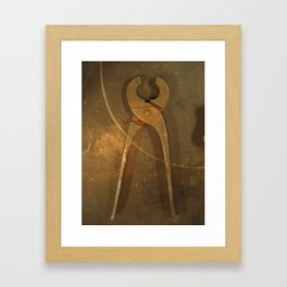 plyers Framed Art Print