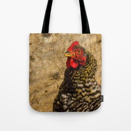 Chicken Time Tote Bag