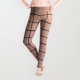 BASIC   Criss Cross Rose Leggings